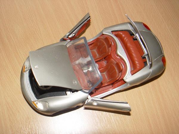 รถโมเดล Porsche ทำจากเหล็ก สภาพดี