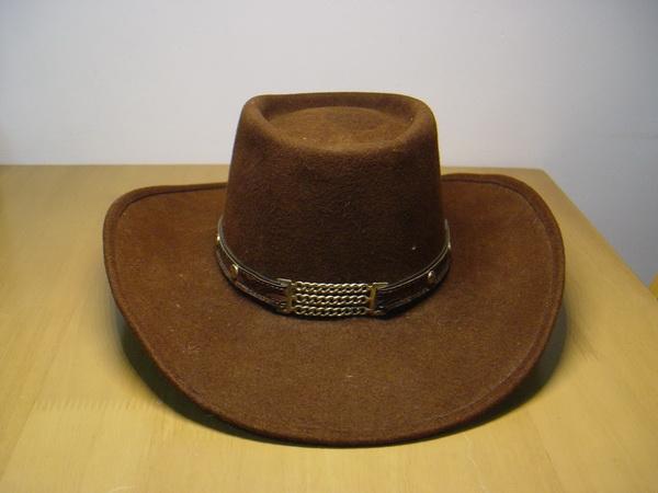 หมวกคาวบอยGolden Gate Cowboy Hat หนังแท้สีน้ำตาล Made in USA ของแท้นำเข้า