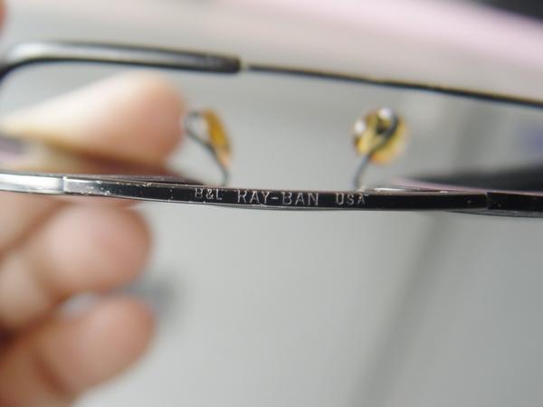 RAYBAN U.S.A. ของแท้เลนส์ BL รุ่นคาราวาน พร้อมเคสใส่แท้ ขนาด52mm. 6