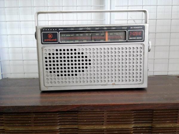 Tanin วิทยุAM ธานินทร์ T-128 IC ใช้งานได้ปกติ