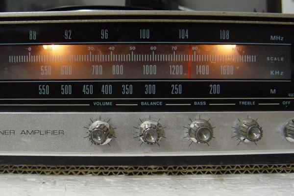 Tanin TPR-2200 AM/FM Stereo Phono เครื่องเล่นแผ่นเสียงธานินทร์ ใช้งานได้ปกติทุกฟังชั่น 1