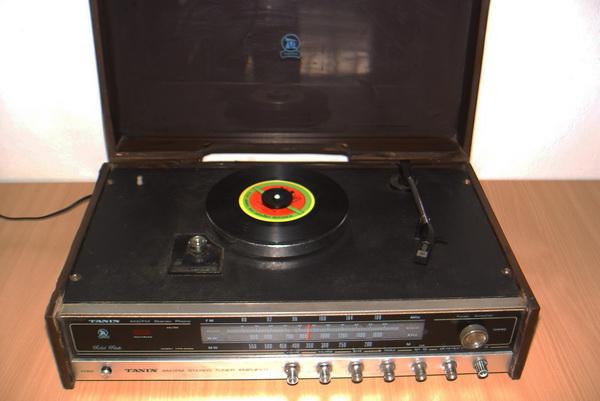 Tanin TPR-2200 AM/FM Stereo Phono เครื่องเล่นแผ่นเสียงธานินทร์ ใช้งานได้ปกติทุกฟังชั่น 2
