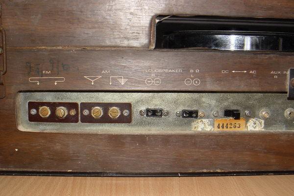 Tanin TPR-2200 AM/FM Stereo Phono เครื่องเล่นแผ่นเสียงธานินทร์ ใช้งานได้ปกติทุกฟังชั่น 7