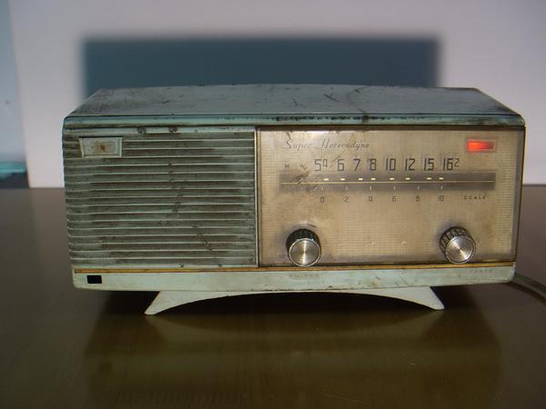 วิทยุหลอดโบราณ National ระบบAM Super Heterodyne สภาพเดิมๆใช้งานได้ปกติ