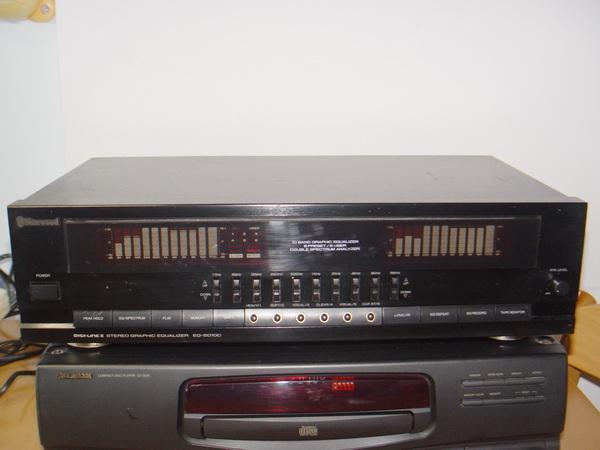 Sherwood EQ-5010C Digital-Link 10 Band Stereo Graphic Equalizer รุ่นใหญ่ ใช้งานได้ปกติ