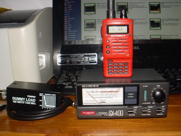 เครื่องวัด SWR และกำลังส่งของวิทยุรับ-ส่ง(วอ) DIAMOND รุ่นSX-400 ของแท้ใช้งานได้ปกติ วัดได้ทุกย่านทั