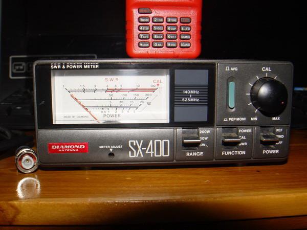 เครื่องวัด SWR และกำลังส่งของวิทยุรับ-ส่ง(วอ) DIAMOND รุ่นSX-400 ของแท้ใช้งานได้ปกติ วัดได้ทุกย่านทั 1