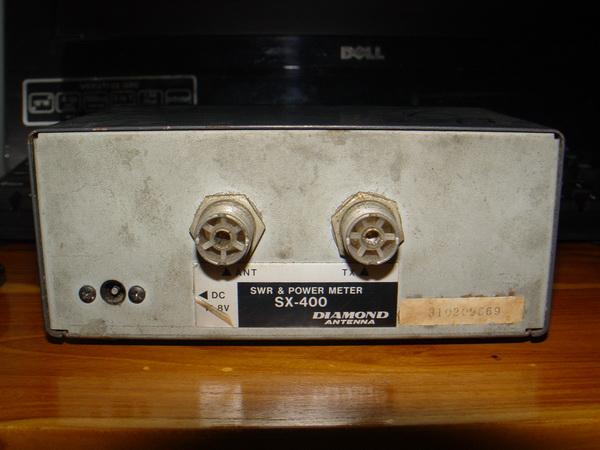 เครื่องวัด SWR และกำลังส่งของวิทยุรับ-ส่ง(วอ) DIAMOND รุ่นSX-400 ของแท้ใช้งานได้ปกติ วัดได้ทุกย่านทั 2