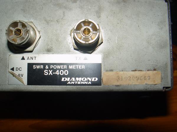 เครื่องวัด SWR และกำลังส่งของวิทยุรับ-ส่ง(วอ) DIAMOND รุ่นSX-400 ของแท้ใช้งานได้ปกติ วัดได้ทุกย่านทั 3