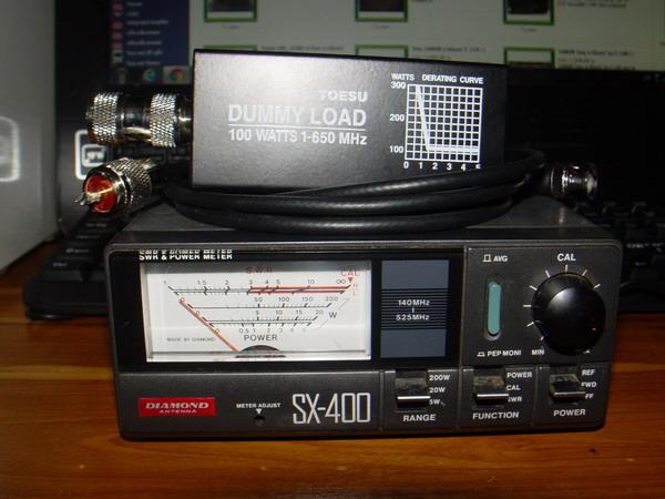 เครื่องวัด SWR และกำลังส่งของวิทยุรับ-ส่ง(วอ) DIAMOND รุ่นSX-400 ของแท้ใช้งานได้ปกติ วัดได้ทุกย่านทั 5