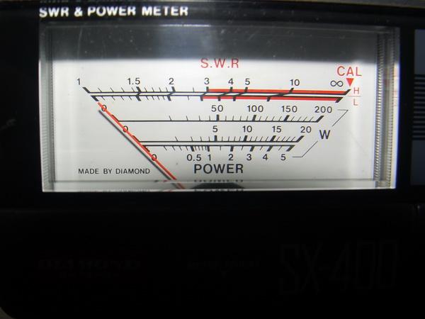 เครื่องวัด SWR และกำลังส่งของวิทยุรับ-ส่ง(วอ) DIAMOND รุ่นSX-400 ของแท้ใช้งานได้ปกติ วัดได้ทุกย่านทั 9