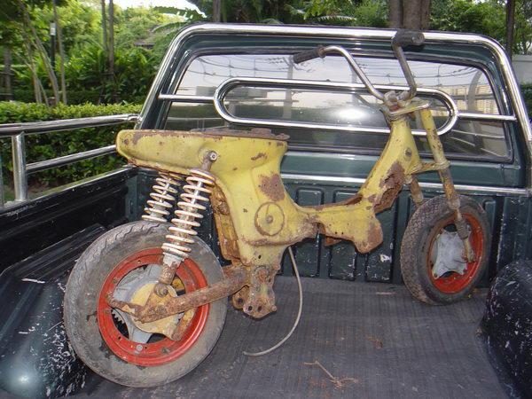Honda Chaly ขายซากรถชาลี เพื่อเอาไปทำต่อ