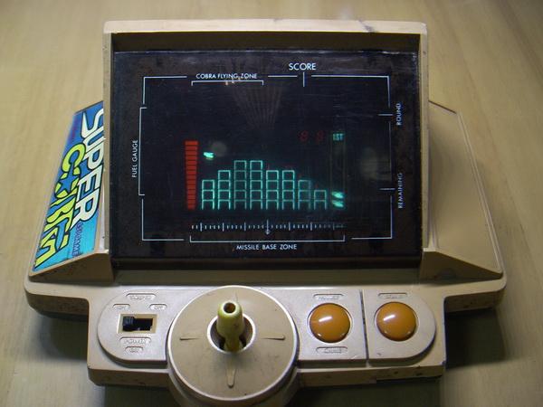 เครื่องเล่นเกมส์โบราณ Gakken Konami Made in JAPAN ใช้งานได้ปกติ