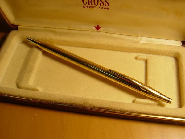 ปากกา CROSS 18K GOLD FILLED ครอส U.S.A. สภาพดีมาก