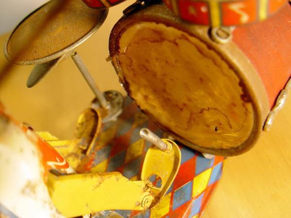 ของเล่นสังกะสีงานเก่าโบราณ Made in JAPAN 7