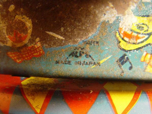 ของเล่นสังกะสีงานเก่าโบราณ Made in JAPAN 9