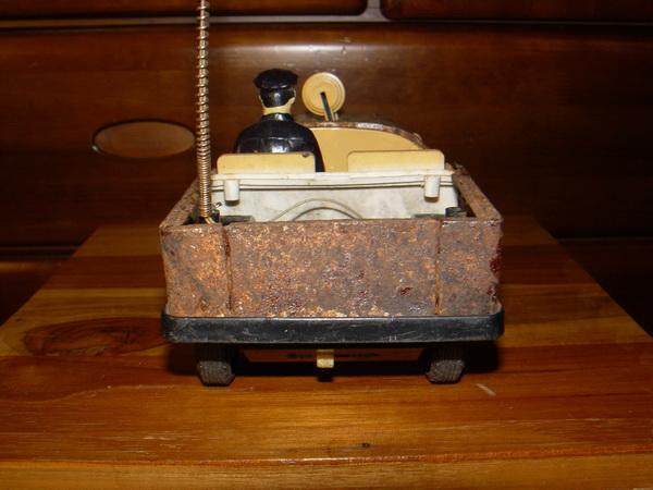 รถจิ๊บสังกะสีงานเก่าโบราณ ญี่ปุ่นแท้ ใช้งานได้ปกติ 3