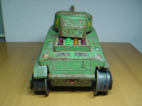 รถถังสังกะสี Sherman M4 Made in Japan 5