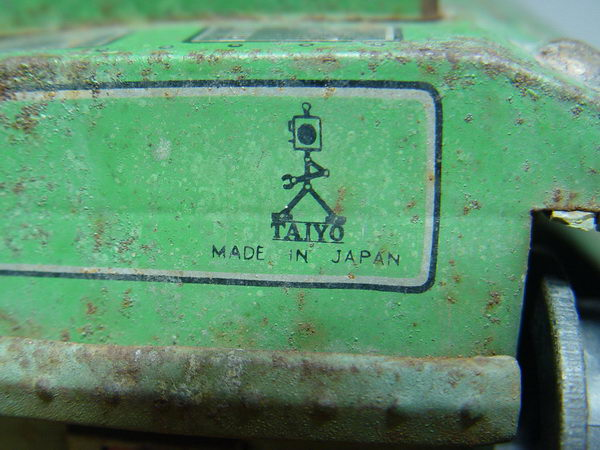 รถถังสังกะสี Sherman M4 Made in Japan 6
