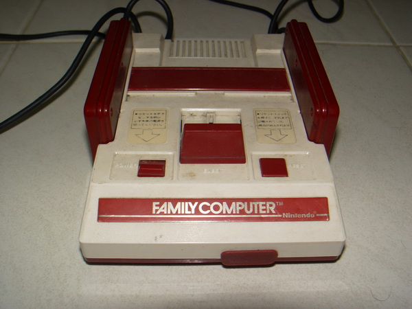 เครื่องเกมส์ Famicom HVC-001 Japan Family Computer ใช้ได้ปกติ