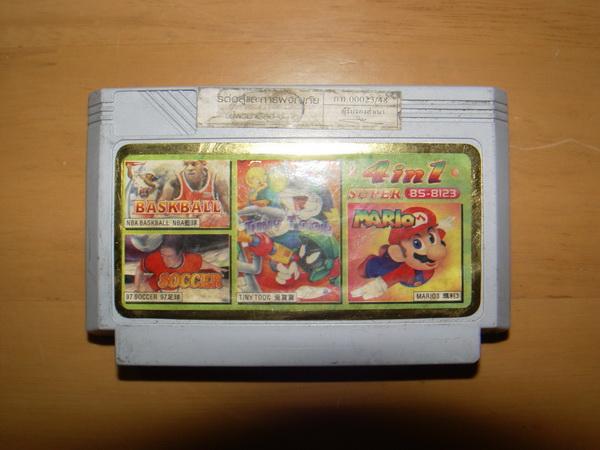 ตลับเกมส์ Famicom Classic หรือ Family Computer ใช้ได้ปกติ