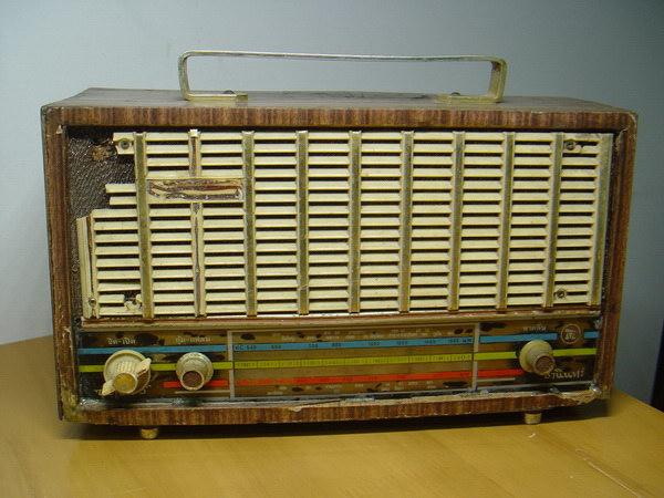 TANIN SUPER U-20 วิทยุธานินทร์โบราณ 6 Transistorใช้งานได้ปกติ