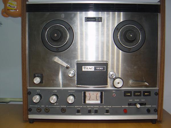 เทปรีล TEAC 1230 Open Reel Stereo Tape Deck ไฟเข้า มอเตอร์หมุน สภาพสวยมาก