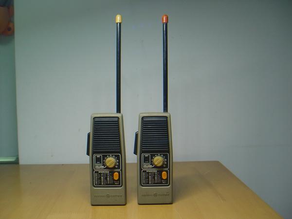 Vintage CB GE Walkie-Talkies 49.860 MHZ ใช้งานได้ปกติ 2