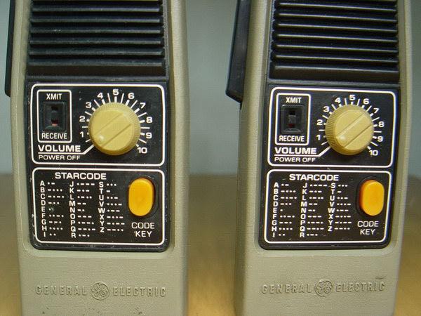 Vintage CB GE Walkie-Talkies 49.860 MHZ ใช้งานได้ปกติ 3