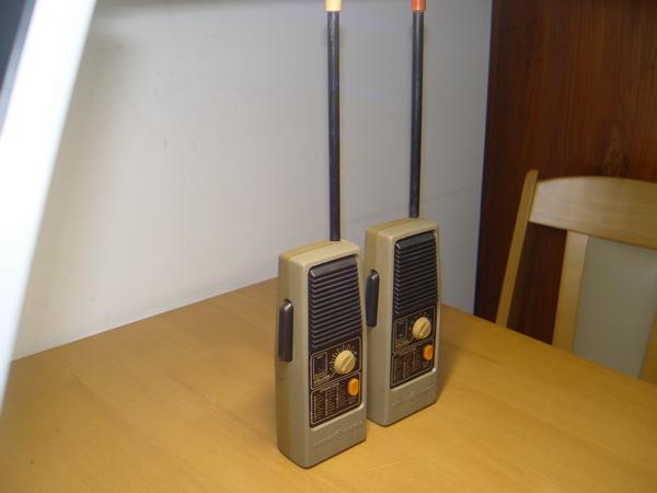 Vintage CB GE Walkie-Talkies 49.860 MHZ ใช้งานได้ปกติ 5
