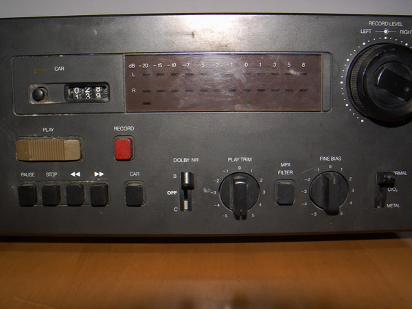 NAD 6340 Sterero Cassette Deck ขายเพื่อเป็นอะไหล่ หรือเอาไปซ่อม 3