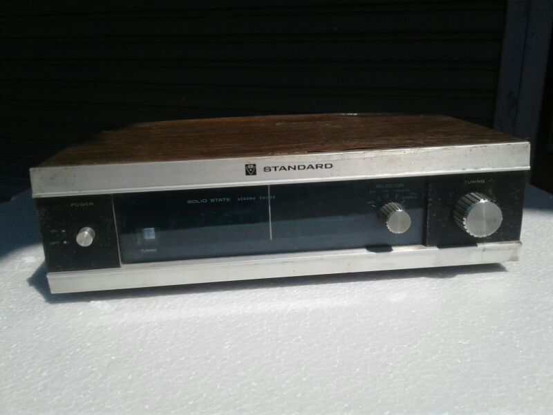 Tuner Stereo AM FM SW STANDARD Made in Japan ใช้งานได้ปกติ
