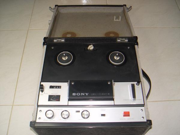 เทปรีลSONY TC-105 Reel to Reel Tapecorder Sony ใช้านได้ปกติ เล่นม้วน 3.5/5/7 นิ้วได้ สภาพดี เสียงดี