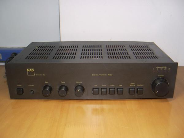 NAD 3020 series20 ใช้งานได้ปกติ เสียงดีมาก เป็นตำนานเครื่องเสียงอมตะไม่มีวันตาย ขายดีที่สุดในโลก