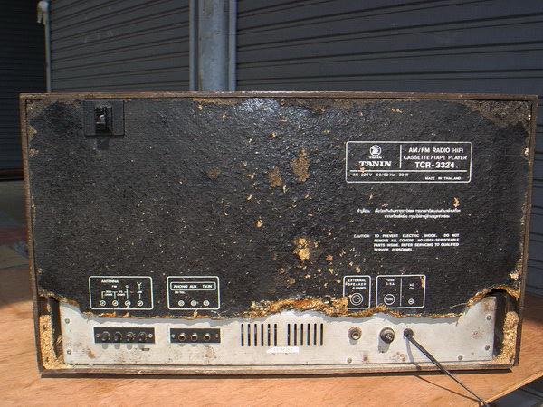 วิทยุ TANIN TCR-3324 ธานินทร์ ใช้งานได้ปกติทุกระบบ 7