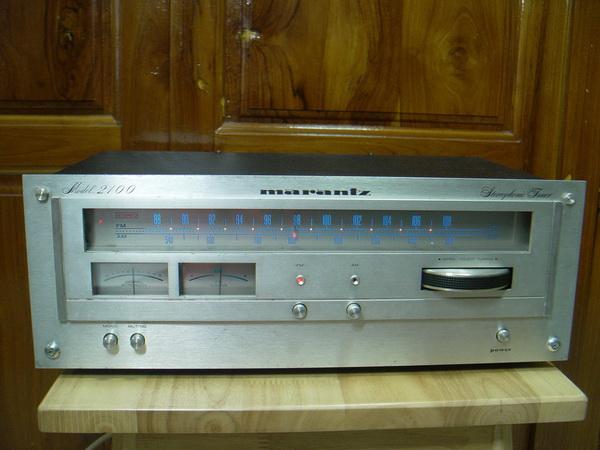 Marantz Model 2100 Stereo Tuner Vintage ใช้งานได้ปกติ รับฟังได้ชัดเจน เสียงดี