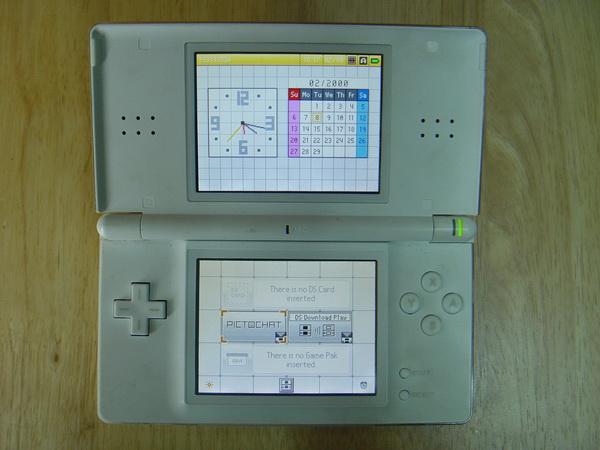 เกมส์พกพา Nintendo DS Lite ใช้งานได้ปกติ