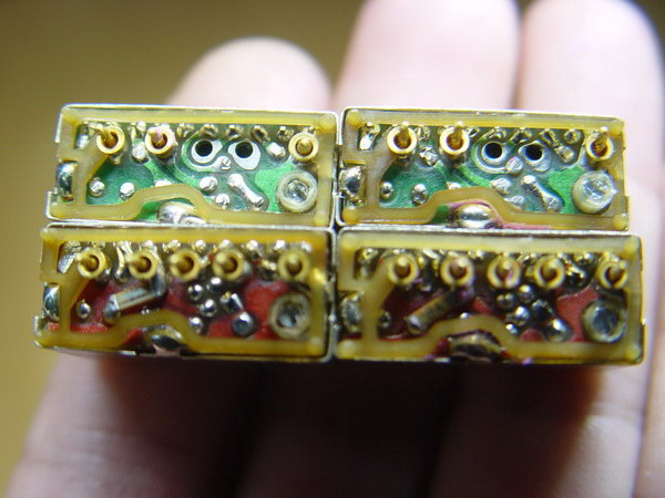 แร่ความถี่วิทยุสื่อสารโบราณ MOTOROLA 2คู่ความถี่ 8