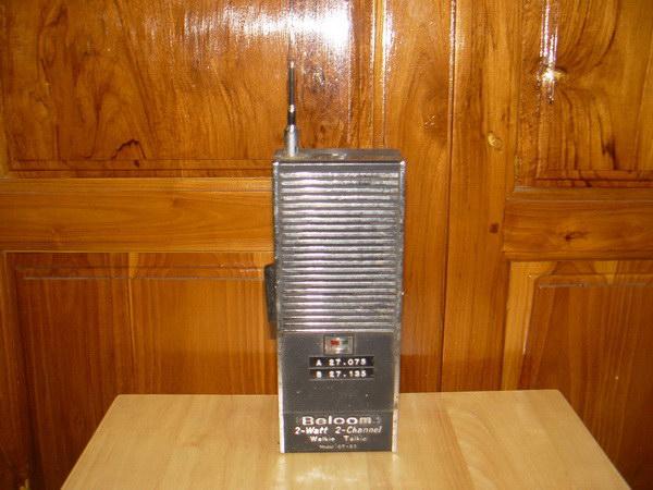 วอโบราณ Belcom GT-22 Walkie Talkie 2 Watt 2 CH สภาพโชว์