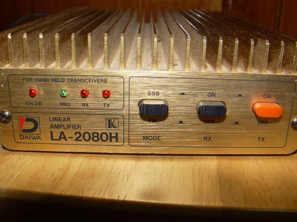 บูสเตอร์ DAIWA LA-2080H เข้า 3-5W ออก 100W 1