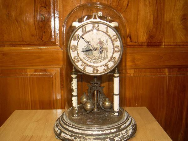 นาฬิกา 400วัน KUNDO Germany ระบบไขลาน ใช้งานได้ปกติ เดินตรง
