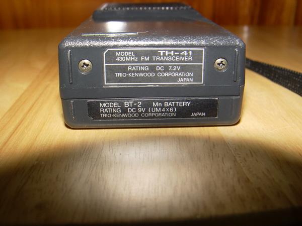 วิทยุสื่อสาร KENWOOD TH-41 ญี่ปุ่นแท้ ย่าน UHF 430-440 Mhz 5