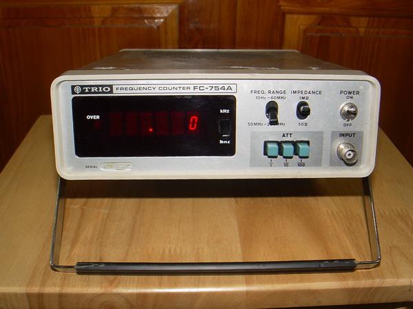 TRIO FC-784A Frequency counter JAPAN เครื่องวัดความถี่ สำหรับนักวิทยุสื่อสารสมัครเล่นต้องมี