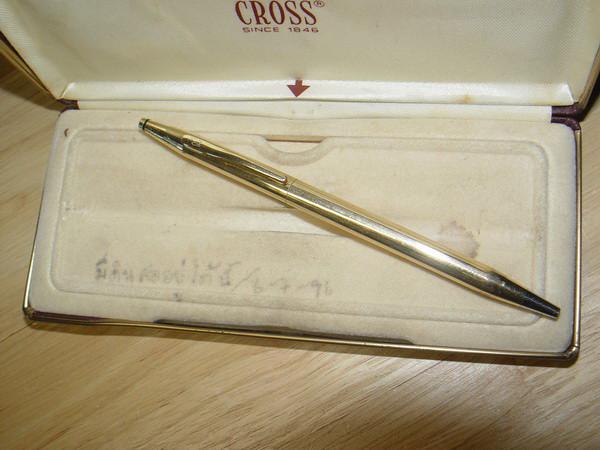 ปากกา CROSS 18k ปากกา ครอส 18K รุ่น Classic Made in U.S.A.