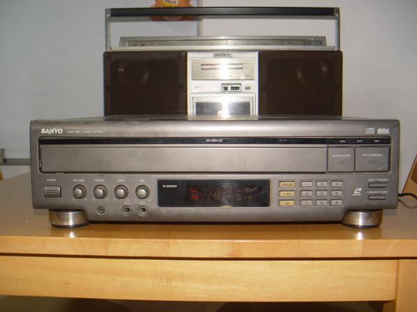 Sanyo LV-P700E Laser disc player ใช้งานได้ปกติ