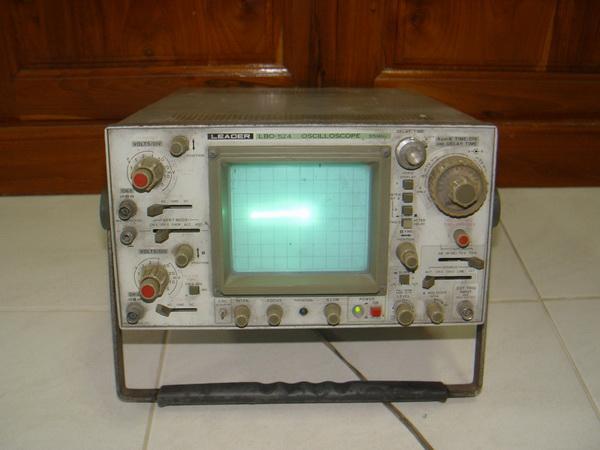 LEADER LBO-524 Oscilloscope 35MHz ออสซิลโลสโคป Japan รุ่นเก่าอนาล็อก เปิดติด