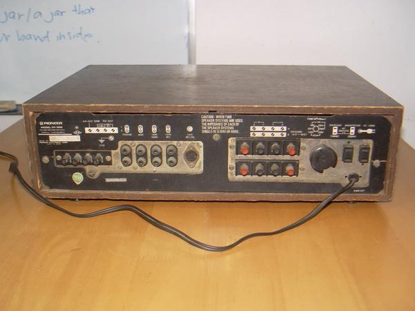 Pioneer SX-300 Receiver ใช้งานได้ปกติทุกระบบ 6