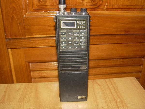 วิทยุสื่อสาร ICOM IC-02A Japan ใช้งานได้ปกติ