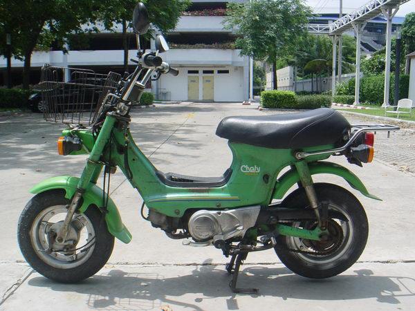 รถโบราณ Honda Chaly เดิมๆ ใช้งานได้ปกติ