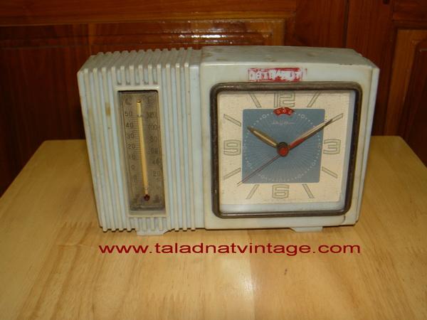 นาฬิกาปลุกโบราณ RHYTHM Japan ระบบไขลาน ใช้ได้ปกติ